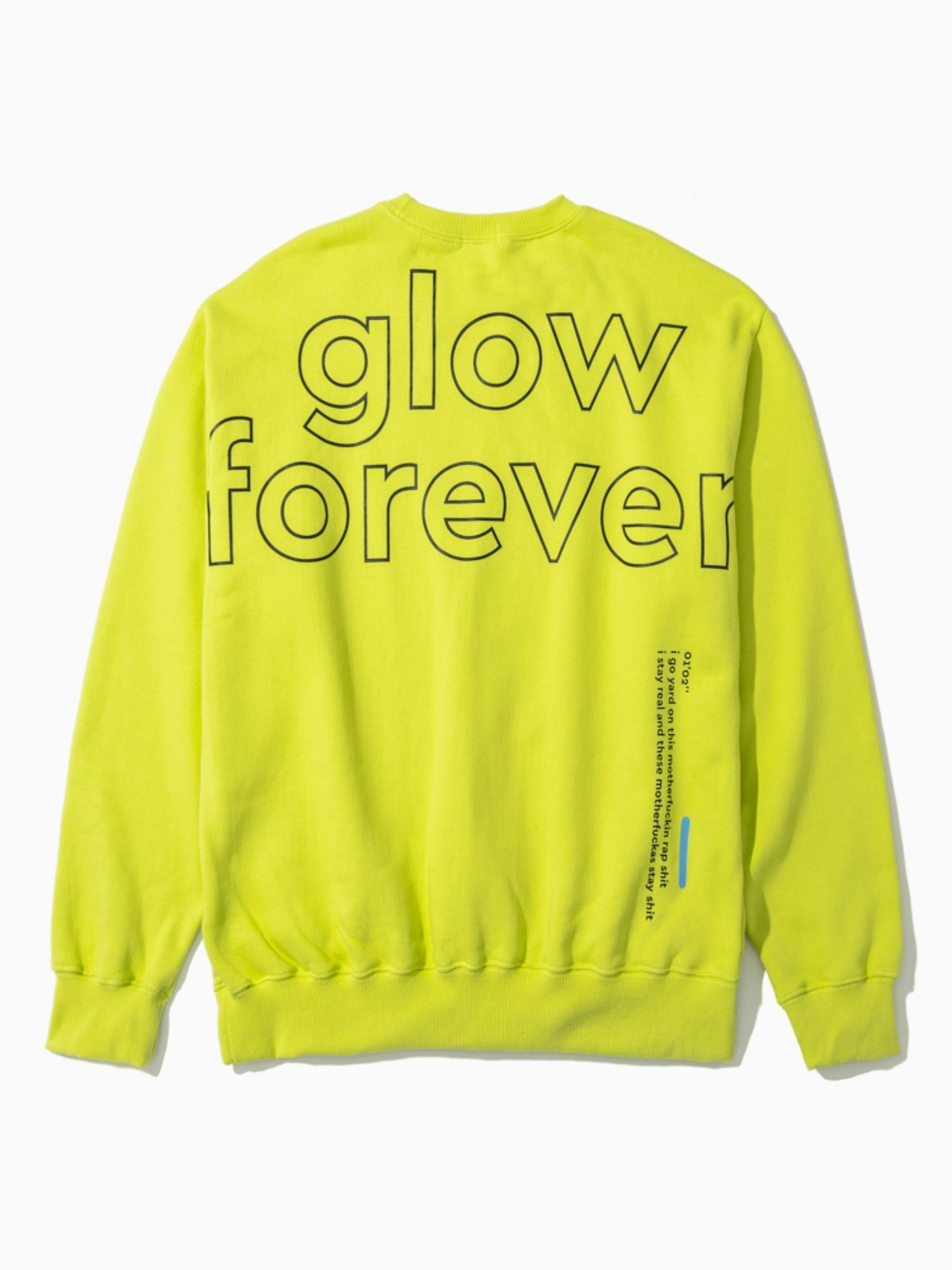 (소량 입고) The Quiett [glow forever] - Crew neck Shirts (3rd pre-oreder)