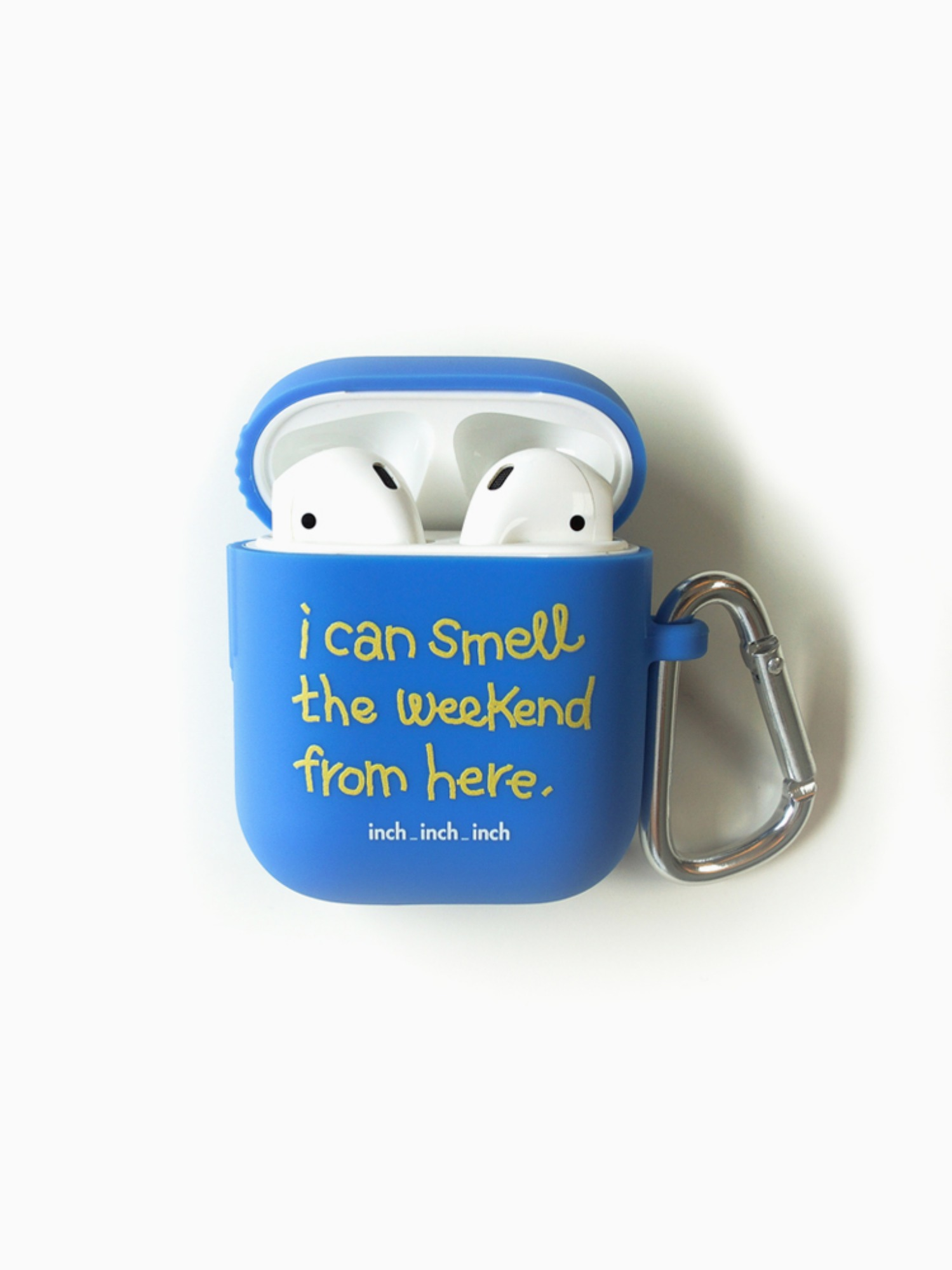 [재입고] Weekend Smell AirPods Case (sky blue)(키링 포함)