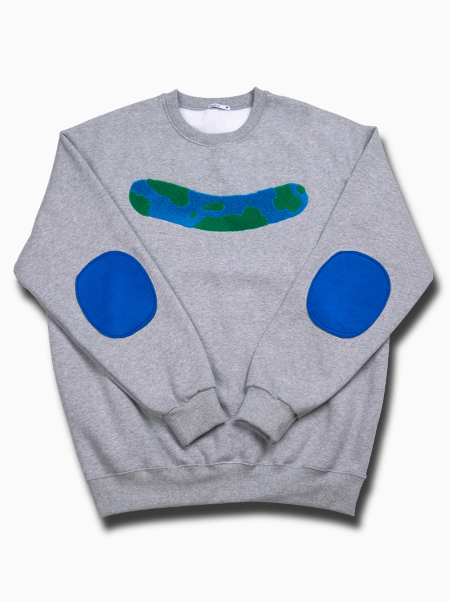 3차 소량입고 [Light grey] world_wide_friends_crew neck
