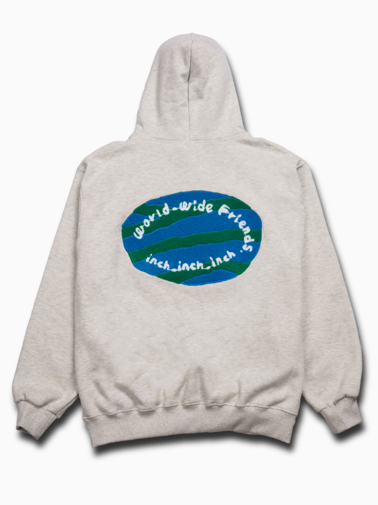 3차 소량입고 [Oatmeal] world_wide_friends_hoodie