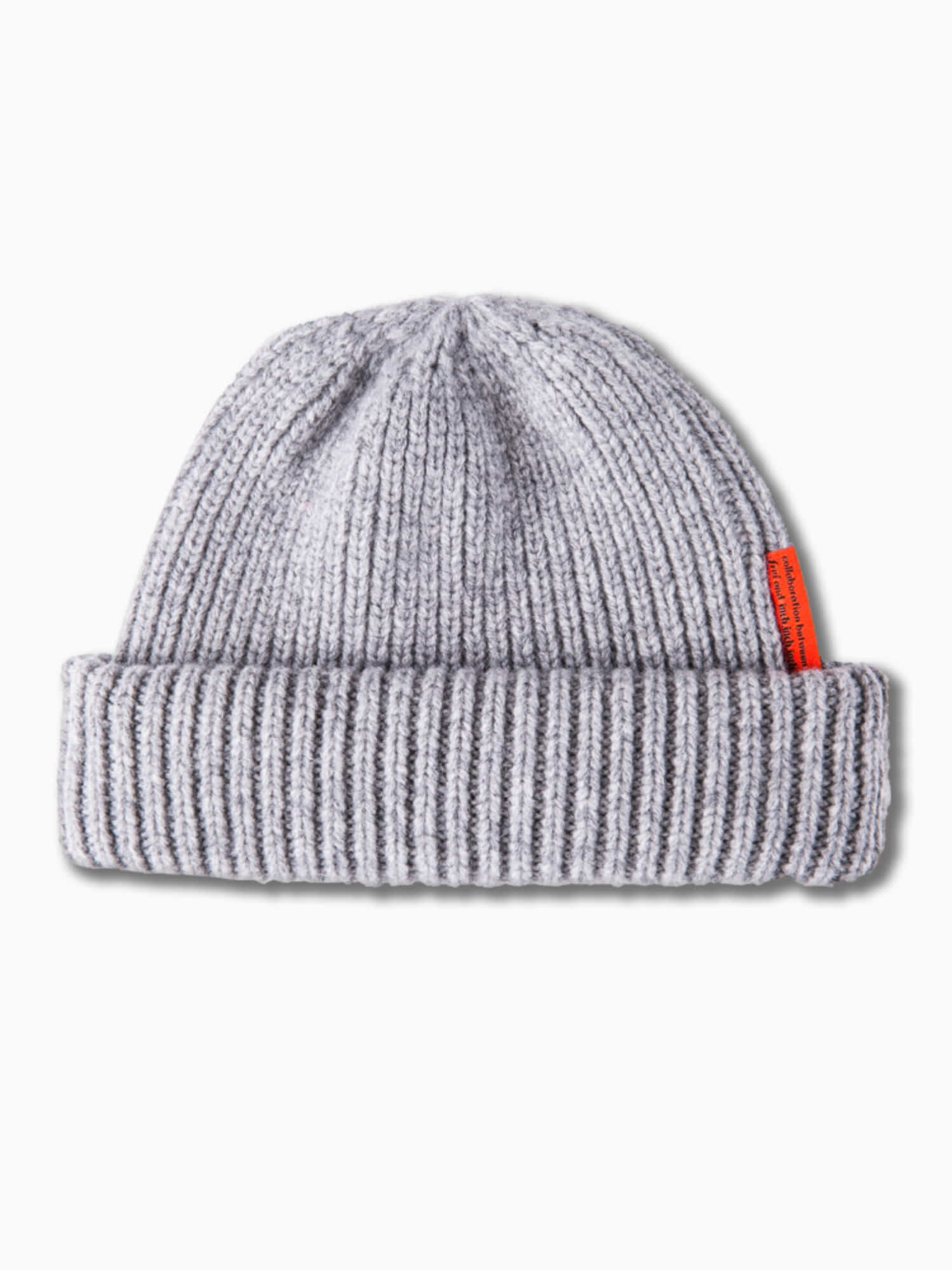 [inch_inch_beanie] Lambs-wool / Light Gray