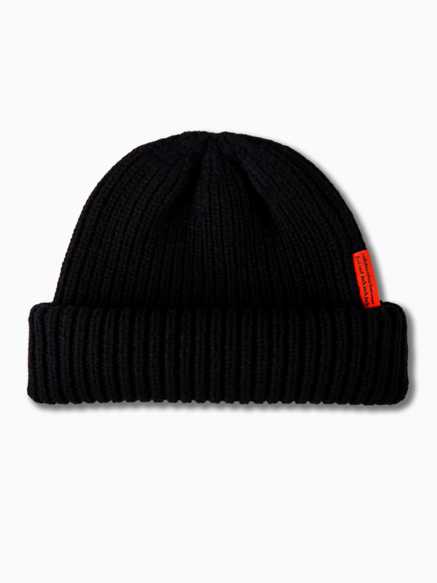[inch_inch_beanie] Lambs-wool / Black