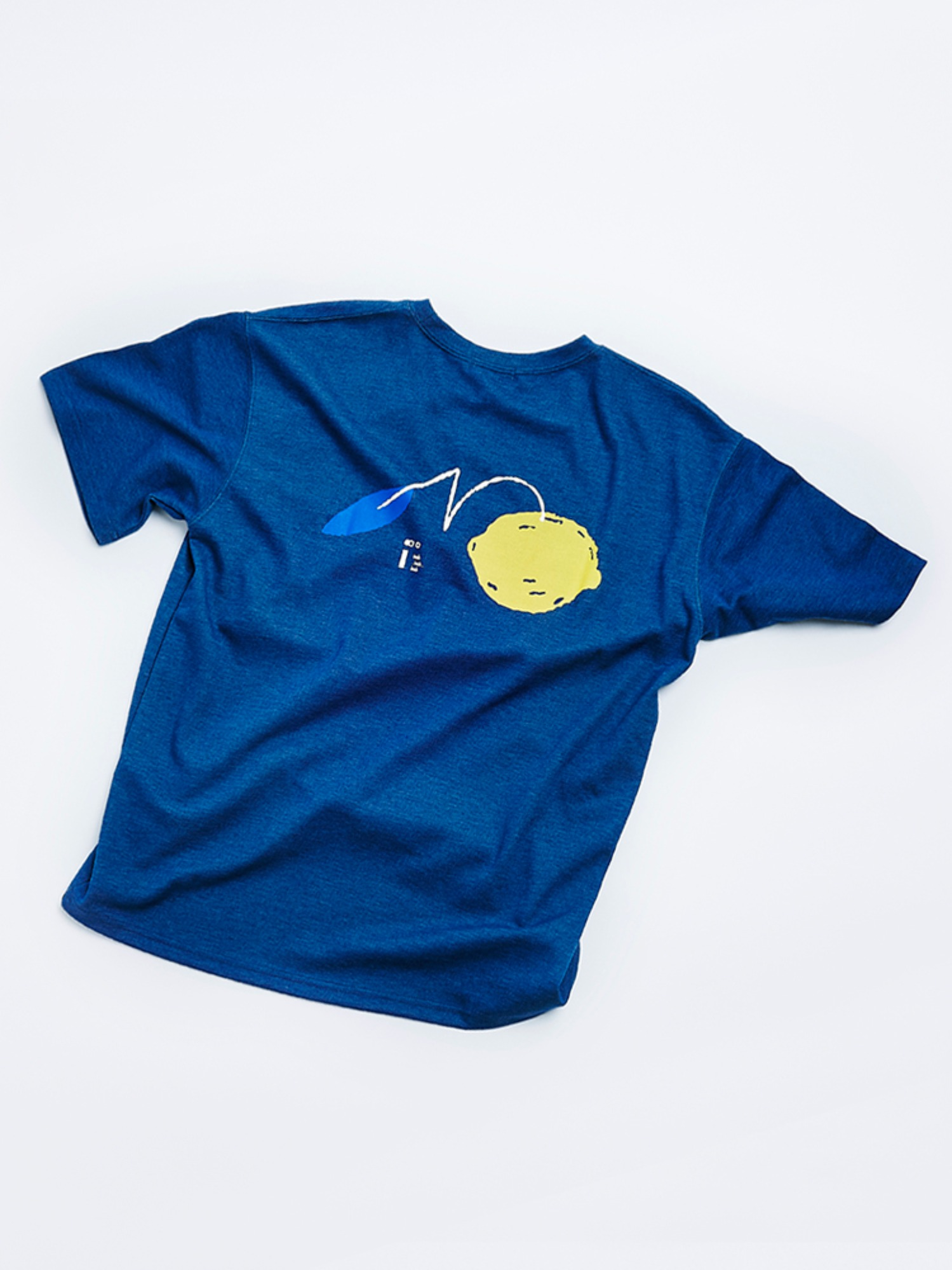 Lemon Solo T shirt (Heather Blue Navy)