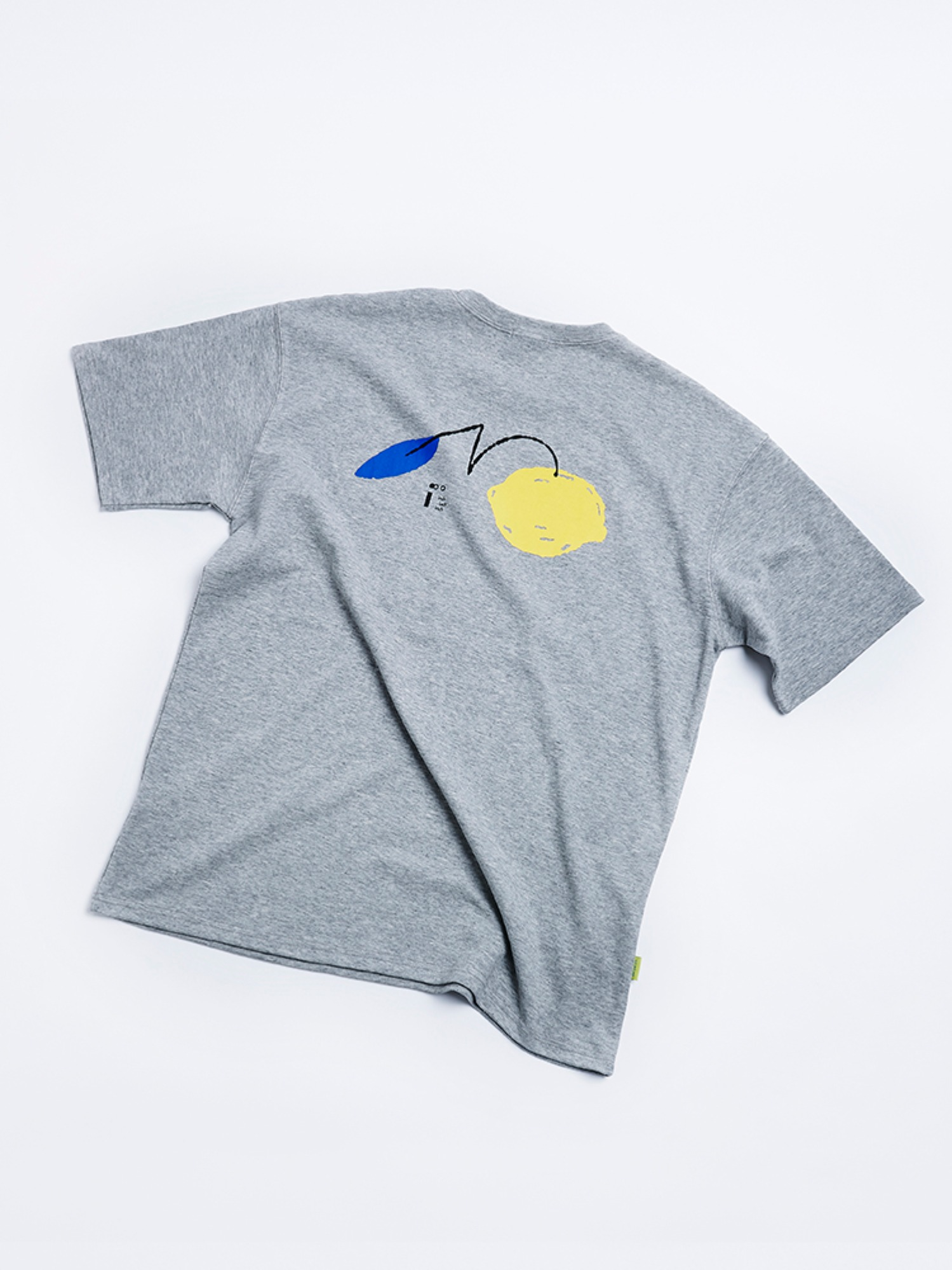 Lemon Solo T shirt (Heather Gray)