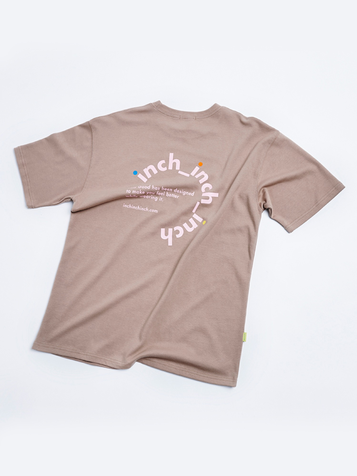 [SEASON OFF] Logo Pop T shirt (Desert Sand)