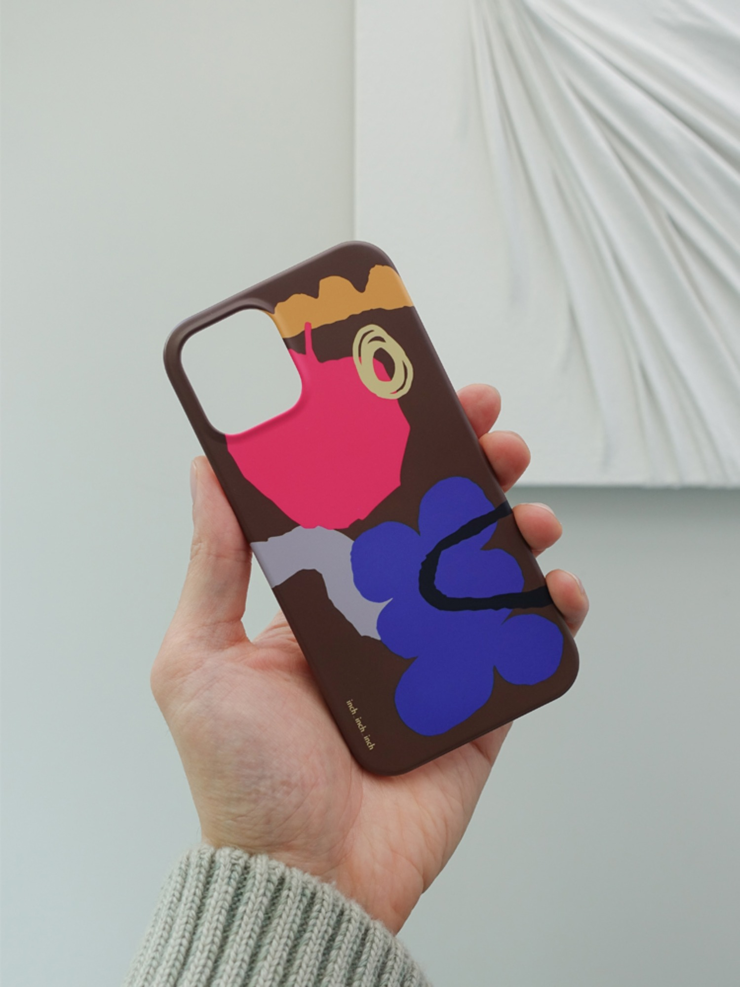 brown care Phone Case (모든 기종 호환)