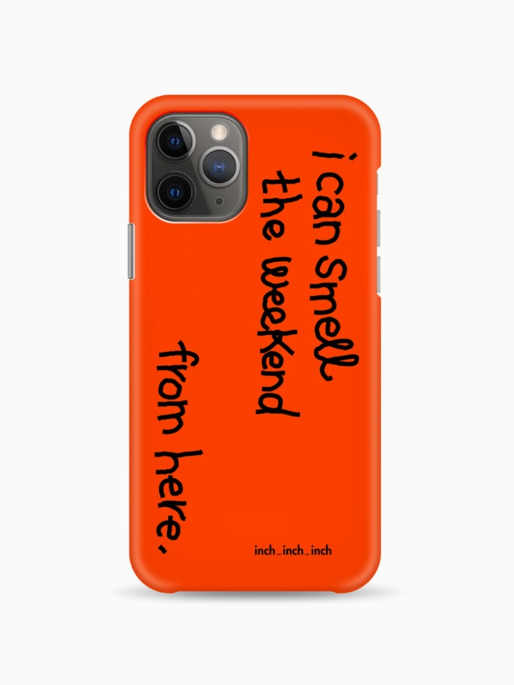 Weekend Smell Phone Case (orange)